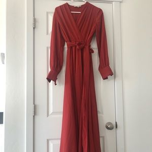Shabby Apple Gorgeous Wrap Maxi Dress
